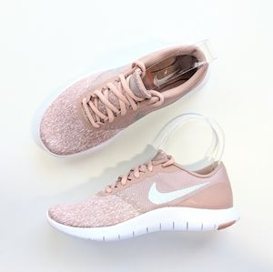 Nike Flex Contact White/Metallic Silver Women's 6